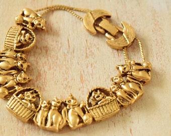 1990's Cat Bracelet | Cat Lover Bracelet