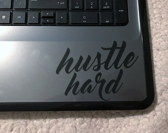 Hustle Hard Decal