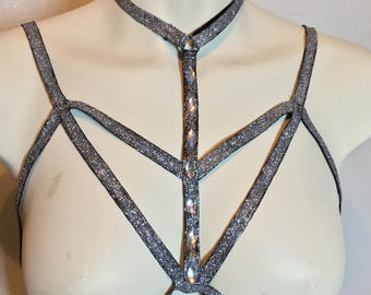 Decorated Body Harness / Body Cage
