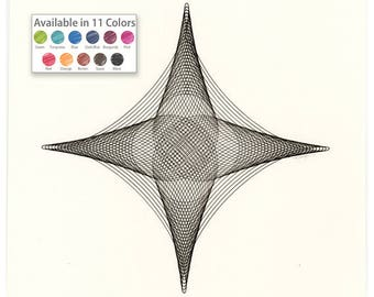 Geometric Art, Hand Drawn, Abstract Geometric, Original Drawing, Abstract Modern Art, Original Modern Art, Small Wall Art, Minimal Art 11x14