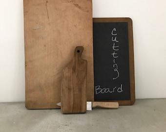 Vintage cutting board props bread wood minimalist modern farmhouse