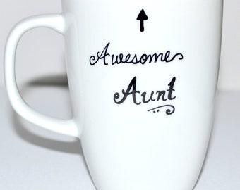 Aunt Coffee Mug - Gift For Auntie 10 oz