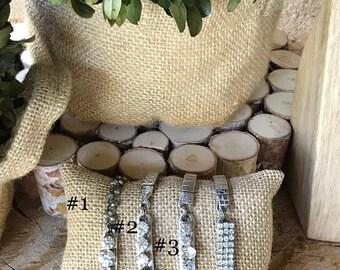 Ready To Ship | Free Shipping | Vintage Watch Bracelets | Diamonds| Stretch Bracelet | Silver | LoLes Nest | Gift |