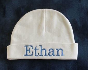 Personalized Newborn /Infant Beanie  Hat