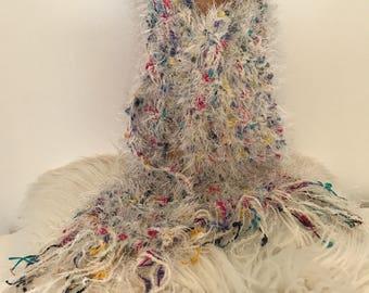 Confetti Pop Fur & Fun Scarves