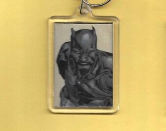 Marvel Black Panter Plastic Keychain