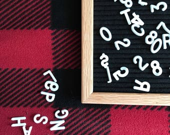 SALE! 16x20 Black Felt Letter Board | IN STOCK | 298 letters included