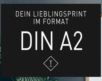 DIN A2 / Fine Art-Print, Wall-Art, Minimal Poster Art, Typography Art, Premium Poster, Kunstdruck Poster