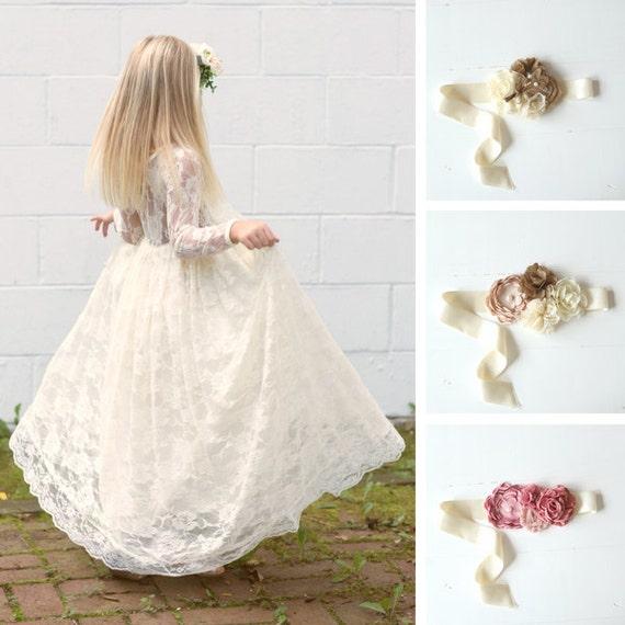 Lace Dresses Girls