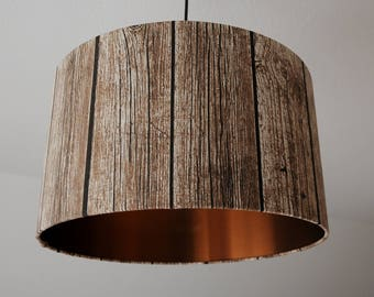 "Lampshade ""Shabby-copper"""