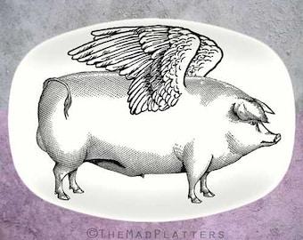 Pigs Fly platter