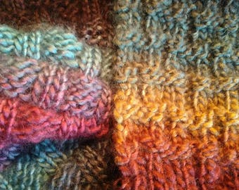 Rainbow Basket Scarf