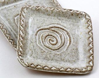 Southwest Swirl Square Plate