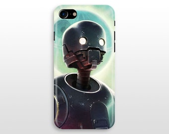 Star Wars K2SO iPhone 8 case, iPhone X iPhone 7 case, iPhone 6 case , iPhone 7 plus, iPhone 5 SE Galaxy S8 S7 S6 case Droid K-2SO Colourful