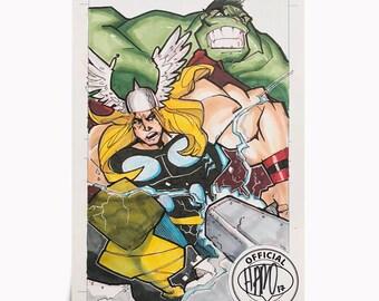 Hulk And Thor Original