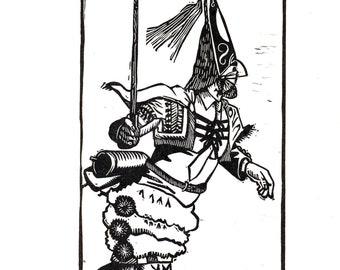 ENTROIDO1. Linografía Original, limited series