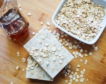 Homemade Oatmeal Honey Goat Milk Soap, Organic Soap, Soap, Soap Bar, Natural Soap, Natural Soap, Soap Bars, Oatmeal Soap Bar, Honey Soap Bar