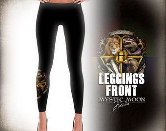 Leggings / Welcome Home /  Potter Gift Art / HP Nerdy /Nerd Gifts  / Wizard / Witch / Magic / Magical / Wizardry / School of S / M/ L / XL