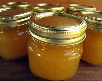 Pineapple Topping, Dessert Topping, Fruit Sauce, 8 ounce, Homemade Jam, Jam, Jelly, Pancake Topping, Pineapple Jam, Cake Topping
