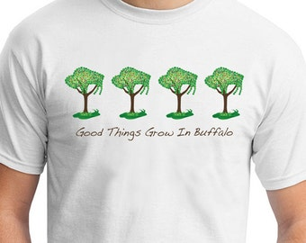 Adult TShirt - Buffalo Trees