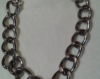 "1/4"" thick chain bracelet"