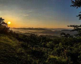 Foothills Parkway Sunrise