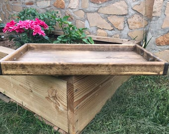 Serving Tray, Kitchen Tray, Rustic Tray