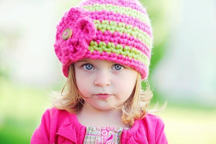 Crochet Hat Pattern by Ruby WebbsThe Elise HatCrochet Hat