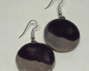 Medium Ceramic Earrings