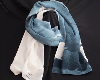 Cashmere Silk Scarf - Just be-cause by VIDA VIDA 2Zy32I9
