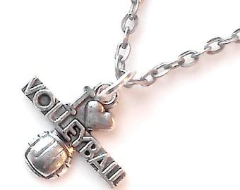 Volleyball Teen Girl Jewelry Teen Girl Gift Tween Girl Tween Girl Gift Necklace Sports Women Jewelry Women Gift