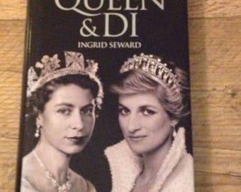 Princess Diana, The Queen  and Di ,Princess Diana and The Queen of England, Princess Diana Book