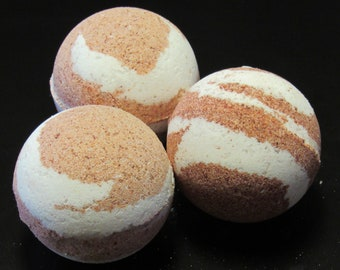 Large 8oz Rose Bath Bombs - Flat Rate Shipping