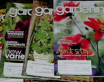 GARDENING - How To Bring Your GARDEN To LIFE - 2013
