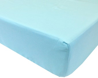 reg. price 26.00 Sky Blue Crib Sheet