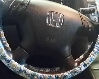 Daisy Steering Wheel Cover