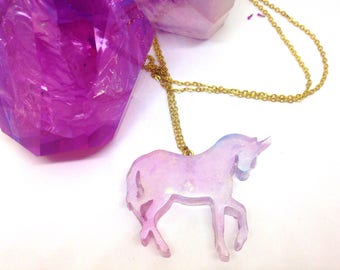 3 models available Unicorn necklace