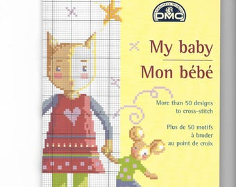 """My Baby Baby"" cross stitch booklet"