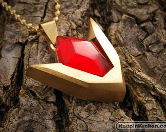 Goron's Ruby Pendant Legend of Zelda Ocarina of Time