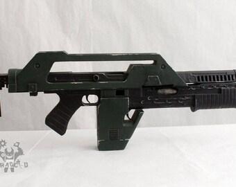 M41A Pulse Rifle Lifesize Forjadict3d Replica. Fan Art.