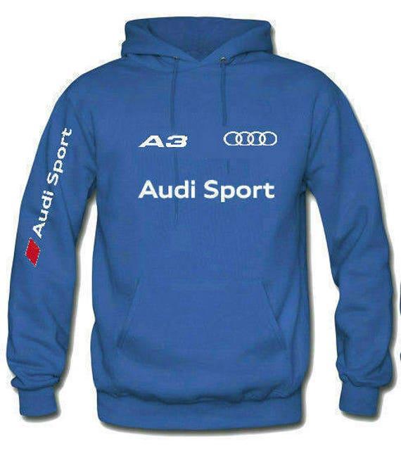 Audi Sport A6 hooded sweatshirt A1 A3 A4 A5 A6 A7 Q3 Q5 Q7 kTNCYC