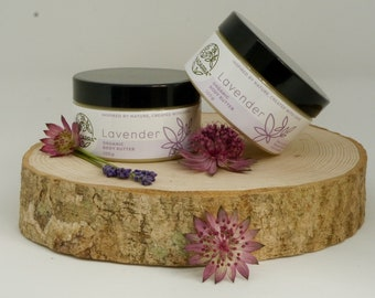 Organic Loving Lavender Body Butter