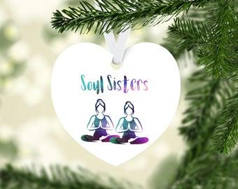 Soul Sisters Heart Ornament