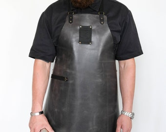 Gray Leather Apron