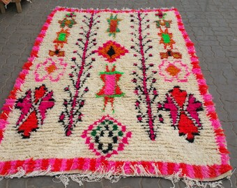 Beautiful moroccan azilal rug, tapis berber , alfombras , berber teppich , handmade craft