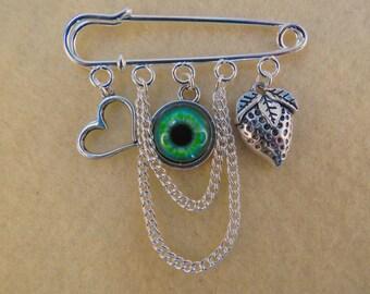 Shakespeare Othello kilt pin brooch (50 mm)