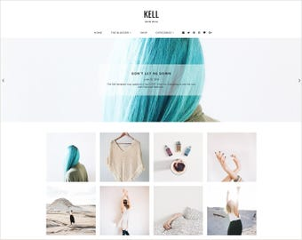 Kell | Responsive Blogger Template + Free Installation