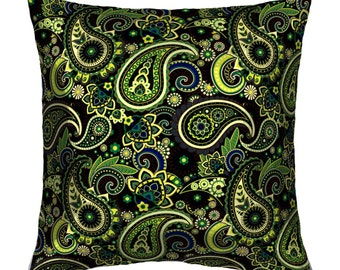 Green decorative pillow Idea gift
