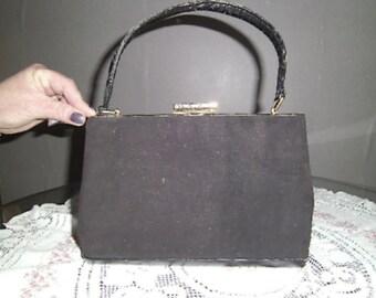 vintage black bag