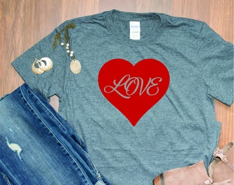 red Love T